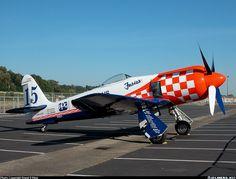 """Furias"", Hawker Sea Fury, Boeing Field, 2002 . . ."