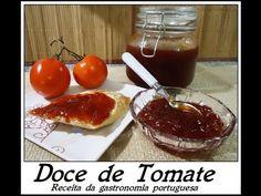Doce de Tomate receita portuguesa da minha mãe - YouTube