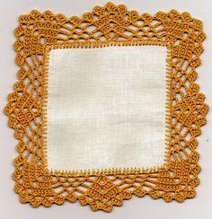 Barrado de Crochet. Fazer no olhometro
