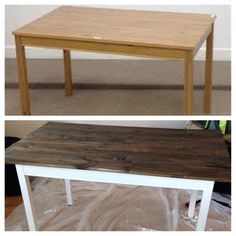 IKEA Jokkmokk dining table hack!