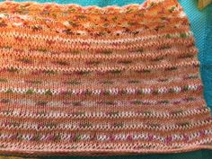 Spring lace infinity scarf for moi-close up view