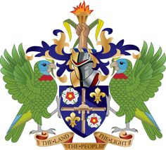 Coat of arms of Saint Lucia.svg-Commonwealth
