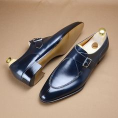 Monk strap split toe for the client of @leffot in NYC. #hiroyanagimachi #madetomesure #trunkshow