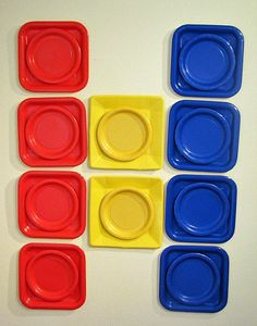 Building Block Party Decorations and Plates by BKreativeDesigns, $15.00