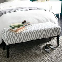 Upholstered Bench - Platinum | west elm