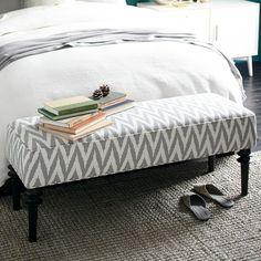 Upholstered Bench - Platinum | west elm