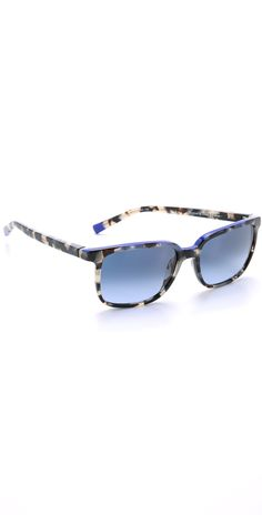 Etnia Barcelona Africa 09 Sunglasses | SHOPBOP  Love these!  Havana Blue!