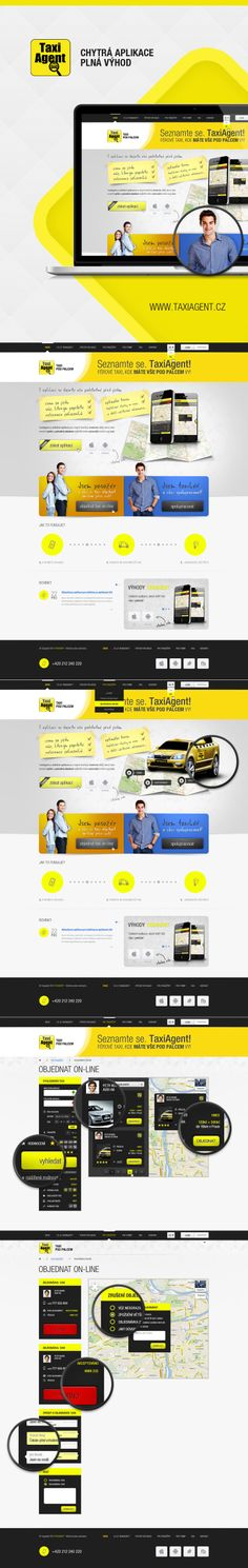 TaxiAgent.cz - web and mobile application for easy order the taxi.