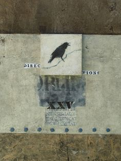 I love crows and type in art. Lone Crow