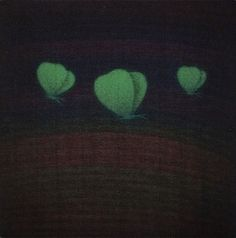 Yozo Hamaguchi. Three Butterflies (Green), 1985-1991.
