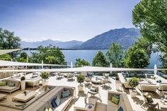 Tour Giardino Lago, Minusio-Locarno, a Member of Design Hotels™ with our photo gallery. Our Minusio-Locarno hotel photos will show you accommodations, public spaces & more. Design Hotel, Palazzo, Pergola, Living Room Partition, Unique Hotels, Modern Ceramics, Future City, Dom, How To Take Photos