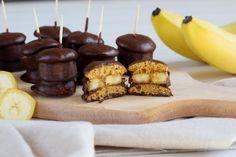 banánové_jednohubky_v_čokoladě Mouka, banany, vejce Cereal, Breakfast, Fit, Morning Coffee, Shape, Breakfast Cereal, Corn Flakes