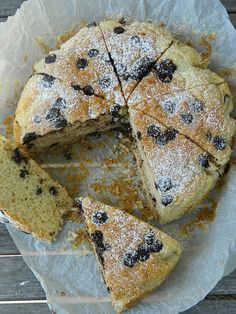 Buttermilk, Olive Oil and Chocolate Chips Tea Cake