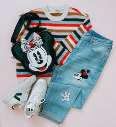 Our friend is giving us major outfit goals! Show us how you with your Harveys bags by tagging us and using the hashtag Cute Disney Outfits, Disney World Outfits, Disney Themed Outfits, Disneyland Outfits, Retro Outfits, Kids Outfits, Cute Outfits, Disney Clothes, Tank Top Outfits