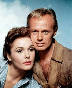Stock Photo - Felicia Farr and Richard Widmark / The Last Wagon / 1956 directed by Delmer Daves [Twentieth Century Fox Film Corpo] Old Movie Stars, Classic Movie Stars, Felicia Farr, Hollywood Actresses, Actors & Actresses, Most Popular People, Famous People, Hollywood Stars, Classic Hollywood