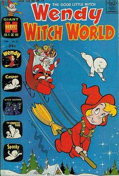 WENDY WITCH WORLD 23, SILVER AGE HARVEY COMICS