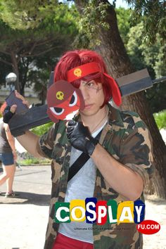 Giroro Cosplay from Sgt. Frog in RIMINI COMIX 2013 IT