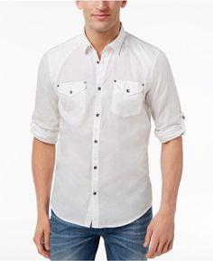 37ffb997ff02f INC International Concepts Men s Harrison Dual-Pocket Shirt