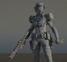 CGTalk - Sunset Soldier, Abraão Segundo (3D)
