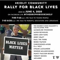 We're about to tune in! Join us. ✊🏿✊🏾✊🏽✊🏼✊🏻✊ Library Skills, School Librarian, The Time Is Now, Book Authors, Book Activities, Rally, Social Media, Teaching, Education