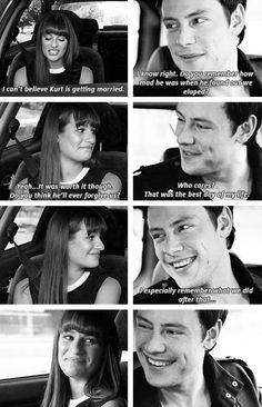 Finchel AU: While driving to Kurt and Blaine's wedding, Finn and Rachel take a little trip down memory lane.