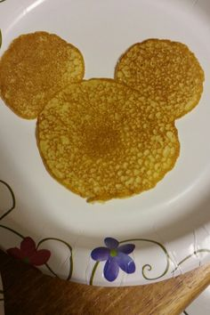 Mickey mouse pancakes..sweet childhood memory with my Mimi:)