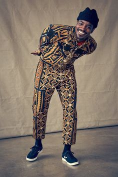 André 3000 Brings His Unique Style to Tretorn's Fall Campaign African Attire, African Wear, African Men Fashion, Mens Fashion, Fashion Trends, Andre 3000, Style Ethnique, Afro Style, Afro Punk