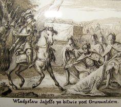 """Wizerunki Władysława Jagiełły - z cyklu """"Z ikonografii bitwy pod Grunwaldem"""""""