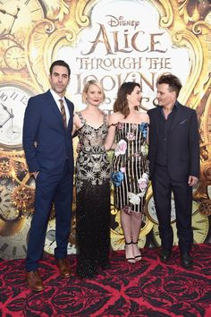 Pin for Later: We're Pretty Sure Anne Hathaway Found This Miraculous Dress in Wonderland