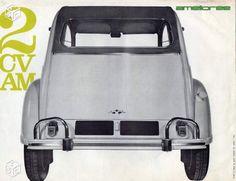 Brochre Citroen 2cv AM - 1963