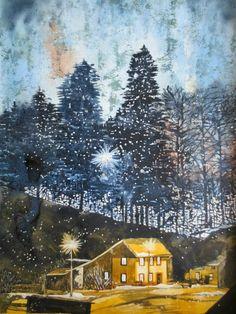 "Renate Schmidt ""Winter im Schwarzwald"""