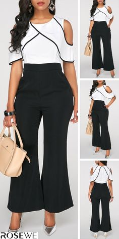 Ideas For Party Outfit Women House Party Outfits For Women, Fall Fashion Outfits, Fashion Pants, Girl Fashion, Womens Fashion, Classy Outfits, Casual Outfits, Cute Outfits, Kurta Designs