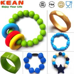 Chompy Silicone Teething Bracelets/popular Teether Silicone ...