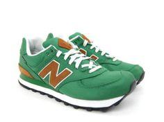 Commonn - New Balance 574 Sneaker - Backpack Green Brown £60.00