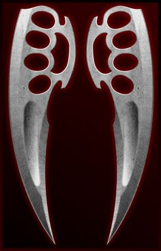 Brass Knuckle Dagger combo