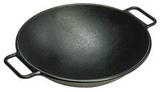 Enjoy your indoor/outdoor stir fry cooking with this Lodge Pro-Logic Cast Iron Wok, Black, For more information and discounted offer read more. Lodge Cast Iron Wok, Kitchen Hacks, Kitchen Tools, Cast Iron Cookware, Kitchen Witch, Food Storage, Stir Fry, Cooking, Indoor Outdoor