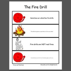 Fire mock drill procedure