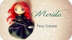 ❤ Merida - Fimo Tutorial ❤, via YouTube.