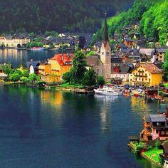 Una vista a la hermosa Austria.