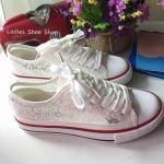 รองเท้าผ้าแฟชั่น สไตล์ Converse