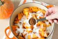 Make your own pumpkin butter.