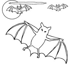 In funny realistic and cartoon of bat coloring pages, kids ages 4 and up will enjoy hours of happy entertainment while reinforcing their knowledge of Bat Coloring Pages, Coloring Pages For Kids, Bat Animal, Cartoon, Funny, Top, Animals, Coloring Pages For Boys, Animales