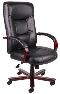 Boss B8901 - Executive High Back Leather Chair | Sale Price: $321.63