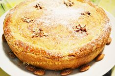 Spizzica in Salento. Great Desserts, Dessert Recipes, Pie Shop, Sweets Cake, Pie Cake, Italian Desserts, C'est Bon, Holiday Baking, Cornbread