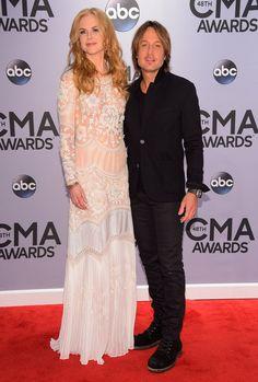 Pin for Later: Best of 2014: les 29 Moments les Plus Mignons du Tapis Rouge Keith Urban et Nicole Kidman aux CMA Awards