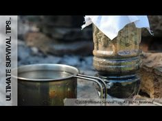 NEW! Make a 25 Cent Survival Water Filter - DIY / Step-By-Step - Portable Emergency Water Filter