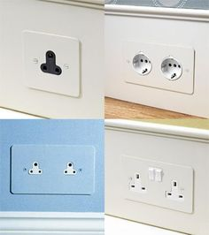 Forbes and Lomax painted sockets - single or double sockets, primed and ready to be painted with the desired colour