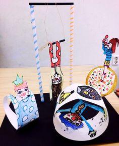 초3 초3 초1 초1 초1 초1 초2 초2 서커스 곡예사들!^^ 사람 연습 겸. 만들기들 좋아라하니 겸사겸사!!!!^^ ... Circus Crafts, Carnival Crafts, Kids Carnival, Circus Art, School Art Projects, Projects For Kids, Crafts For Kids, Arts And Crafts, Paper Crafts