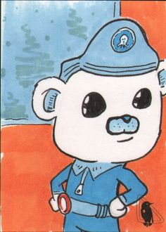 Octonauts Captain Barnacles sketch card