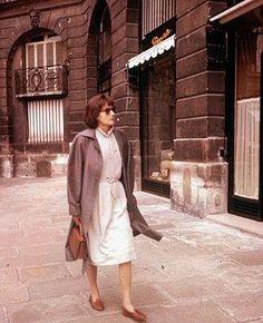 Greta Garbo in Paris, 1958.